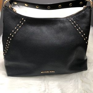 Michael Kors Aria shoulder bag with studs